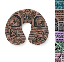 Maui Tattoos Inspired Disney Moana Travel Neck Pillow - $28.60 CAD
