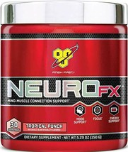 BSN | NEURO FX | Mood Support, Focus, Energy | Tropical Punch, 30 Servings - $24.70