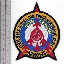 Aerobatic Royal Air Force RAF The Red Arrows Display Teams 40th Seasons ... - $10.99