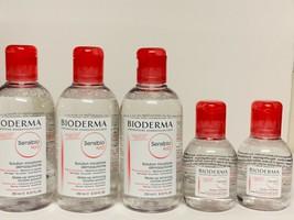 Bioderma Sensibio H2O Micelle Solution LOT OF 5 ~ 3x 250ml & 2x 100ml - $29.99