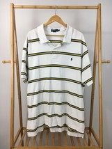 Polo Ralph Lauren Men's Pony Striped Short Sleeve Polo Shirt Size 4XB BIG - $14.95