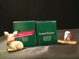 Hallmark Handcrafted Ornaments AA-191774D Collectible ( 2 pieces ) image 4