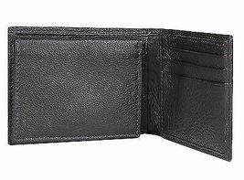 Calvin Klein Ck Men's Leather Bifold Id Wallet Key Chain Set Black 79080 image 5