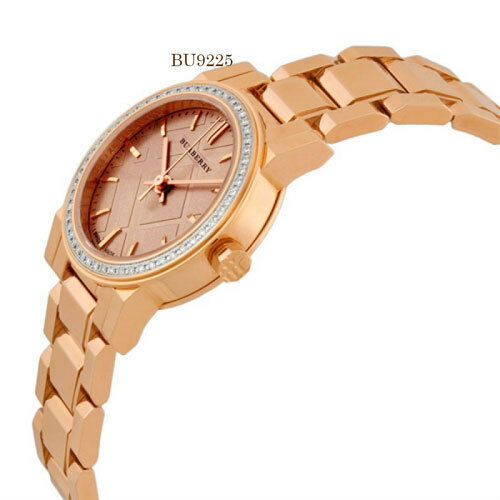 Burberry Rose Dial Diamond-set Bezel rose Gold-tone Ladies Watch BU9225 image 3