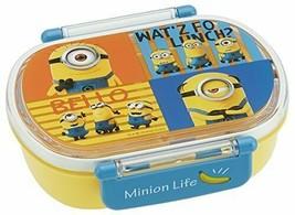 *Skater lunch box 360ml lunch box Minion 3 made in Japan QA2BA - $20.05