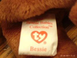 1st Edition Beanie Babies Rare Bessie the Cow, image 3