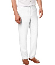 Tasso Elba Men's Drawstring Pants,  Color:White , 2XL  MSRP 65 $ - $27.99