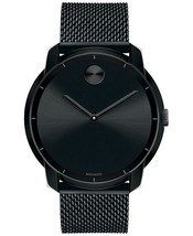 Movado Bold Black Dial Black Ion-plated Men's Watch 3600261 - $349.00
