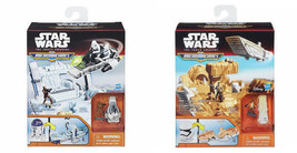 Star Wars The Force Awakens Micro Machines R2-D2 or Stormtrooper Playset... - $17.99