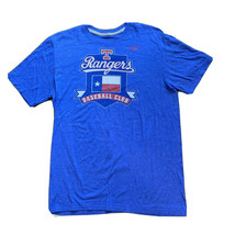 Texas Rangers MLB Baseball T Shirt NIKE Regular Fit Size Large - $17.81
