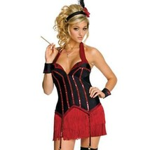 Red Carpet Sexy Kitty Halloween Costume Licensed by Playboy Size Med 10-... - $49.45