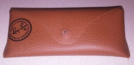 Vintage Original RAY BAN Sunglass CASE ONLY Pebble Tan Color  (RM) - $14.84
