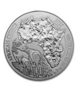 2021 Rwanda 1oz Silver African Ounce Okapi BU - $50.00