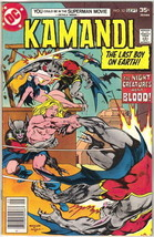 Kamandi, The Last Boy On Earth Comic Book #52 DC Comics 1977 FINE+ - $7.38