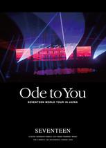 SEVENTEEN WORLD TOUR 'ODE TO YOU' DVD + Photocard Regular Edition - $70.80