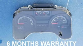 2014 FORD SUPER DUTY E350 GASOLINE AUTO INSTRUMENT CLUSTER - $286.11