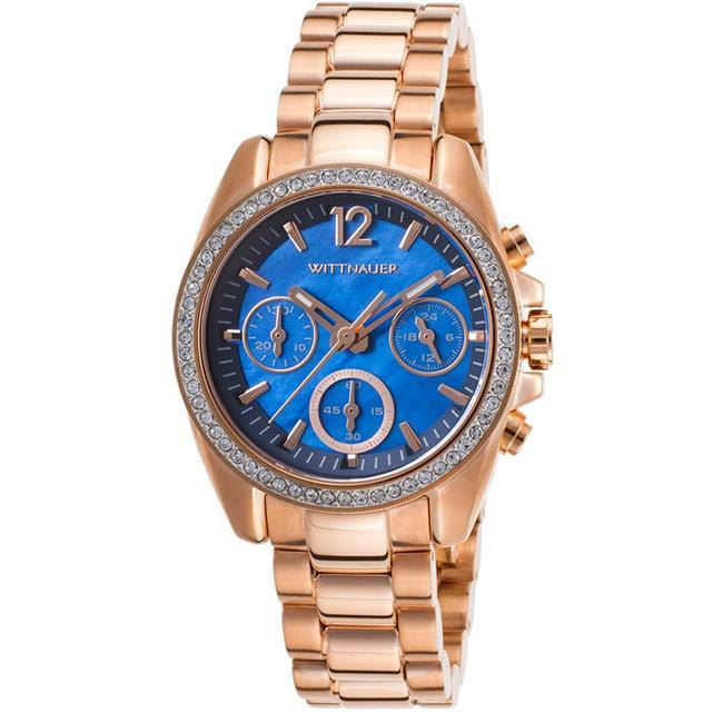 Wittnauer Lucy Chronograph Rose Gold-Tone Ladies Watch WN4041 - $166.45
