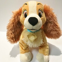 "Disney Store Lady & The Tramp Lady 12"" Cocker Spaniel Plush Dog - $12.19"