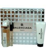 BALENCIAGA B. 3 PIECE GIFT SET EAU DE PARFUM SPRAY 75 ML/2.5 FL.OZ. NIB-... - $123.75
