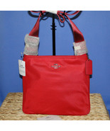 Coach Nylon Crossbody NWT True Red F22346 - $95.00