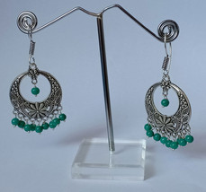 Traditional Ethnic Indian Earrings Bali Jhumka Jhumki Gypsy Dangle Earrings - $13.09