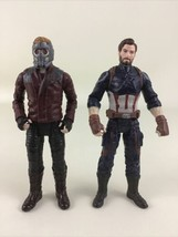 """Marvel Captain America Star Lord 6"""" Action Figures Avengers End Game 201... - $24.70"""