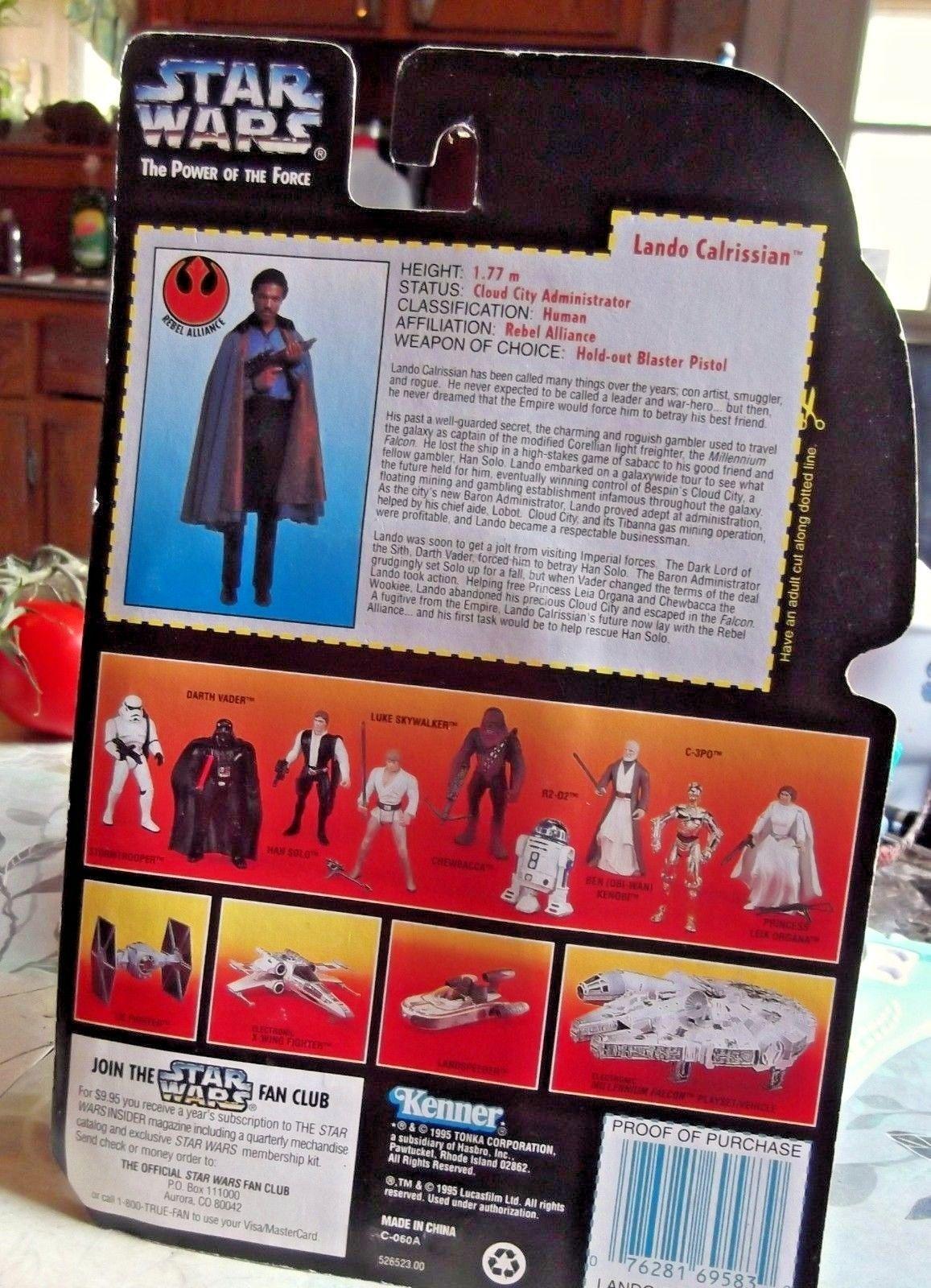 Hasbro Star Wars Han Stormtrooper Mail Away Figure Sealed MIB 1995