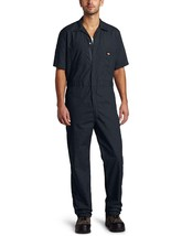 NEW NWT Dickies Men's Short Sleeve Coverall, Dark Navy, Large Regular - $34.96
