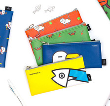 Mackerel Animal Pencil Case Pocket Bag Cute Pencase Holder Stationery Or... - $12.99