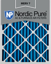 Nordic Pure 14x20x2 Pleated MERV 7 Air Filters 3 Pack - $27.34