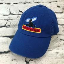 White Fish Youth OS Hat Blue Moose Adjustable Strapback Baseball Cap 100... - $9.89