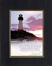 For Inspiration - My Safety. . . 8 x 10 Inches Biblical/Religious Verses... - $11.14