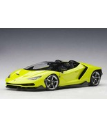Toraya 1 18 Aa Lamborghini Centenario Roadster Light Green - $387.29
