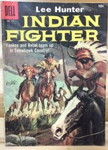 LEE HUNTER, INDIAN FIGHTER (1957) Dell Four Color Comics #779 VG+ - $9.89
