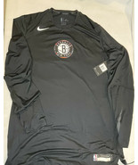 Nike NBA Brooklyn Nets Team Issued Sz XL-TT City Edition Long Sleeve 932... - $78.30