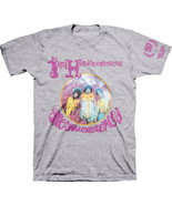Jimi Hendrix-Are You Experienced-X-Large Heather Gray T-shirt - $19.34