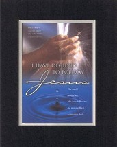 I have decided to follow Jesus; The world behind me, the cross before me... - $11.14