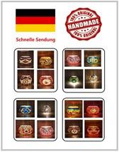 Home Deko Kerzenhalter Teelichter Handgefertigte Mosaik Orientalische Ga... - $24.27