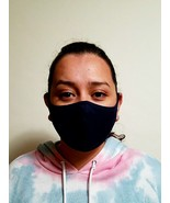 Black Breathable Unisex Anti Dust Washable Reusable Face Mouth made in USA  - $8.20