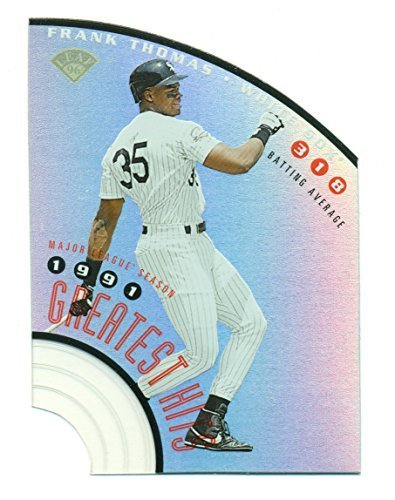 1996 Leaf Frank Thomas Greatest Hits #2 Serial No: 3018/5000 - Chicago White Sox