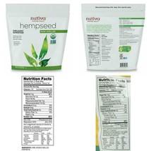 Nutiva Organic, Raw, Shelled Hempseed From Non-Gmo, Sustainably Farmed C... - $21.99+