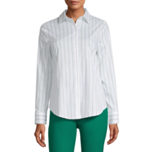 Worthington Long Sleeve Modern Fit Button-Down Shirt Size S, M, L, XL, X... - $12.99