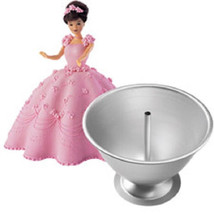 Wilton Doll Classic Wonder Mold Cake Pan kit Set 7 in doll pick - $478,59 MXN