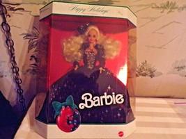 1991 Happy Holidays Barbie Special Edition in original box - $27.23