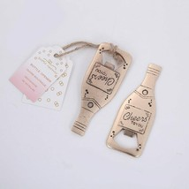Bottle Creative Champagne Metal Beer Opener Personalized Favors And Gift... - $4.09