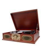 Studebaker SB6051 Wooden Turntable with AM/FM Radio - $97.99