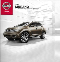 2013 Nissan MURANO brochure catalog US 13 SV SL LE CROSSCABRIOLET - $9.00