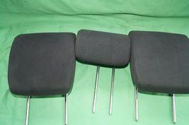 10-14 Honda Insight Rear Seat Cloth Headrests Head Rests Set image 8