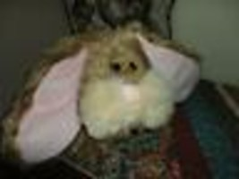 Ganz 1999 SCRUFFY BUNNY Adorable Face Long Ears RETIRED - $58.00