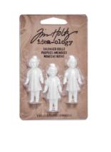 Tim Holtz idea-ology Salvaged Dolls - Pack of 3